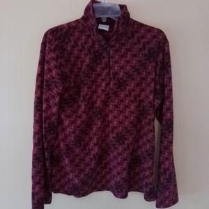EUC Columbia 1/4 zip fleece, size XL